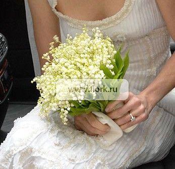 Купить букет из ландышей на свадьбу